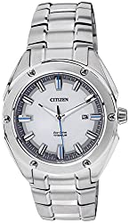 Citizen Eco-Drive Analog White Dial Mens Watch BM7130-58A