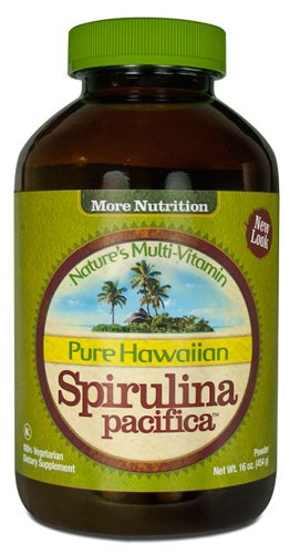 Nutrex Hawaii Hawaiian Spirulina Pacifica Powder, 16-Ounce Bottle