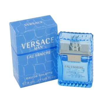 Versace Man by Versace Mens Mini Eau Fraiche .17 oz