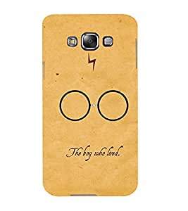 Mental Mind 3D Printed Plastic Back Cover For Samsung Galaxy E5- 3DSAME5-G1539