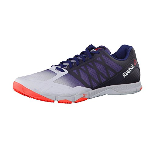 Reebok CrossFit Speed TR Scarpe Da Allenamento Uomo, blu (Cloud Grey/ Collegiate Navy/ Atomic Red), 42