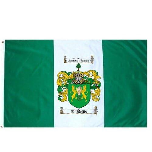 Amazon.com : O'reilly Family Crest / Coat of Arms Flag