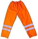 Culotte étanche refektionsstreifen travail haute visibilité jaune taille élastique vêtements de travail fluorescente sécurité des transports