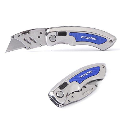 Workpro-Quick-Change-Folding-Utility-Knife