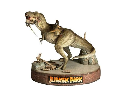 Picture of Sideshow Jurassic Park: T-Rex vs. Velociraptors Diorama by Sideshow Collectibles! Figure (B0019S50CU) (Sideshow Action Figures)