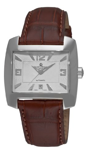 Baume &#038; Mercier Men&#8217;s 8254 Hampton Spirit Automatic Leather Watch
