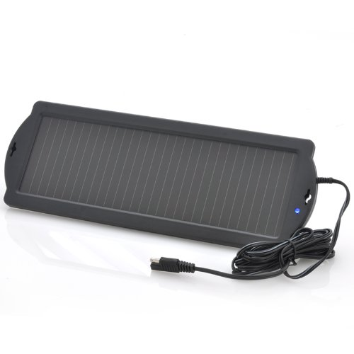 "Solar Trickle Car Charger ""Topray"" - 1.5W, 12V Battery Charger"