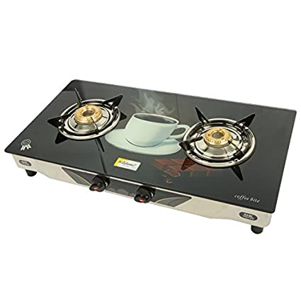 Winflame Glass Top Gas Cooktop (2 Burner)