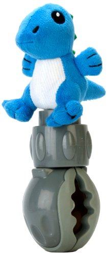 squish & a squeeze Buggy Buttons, Blue Dino