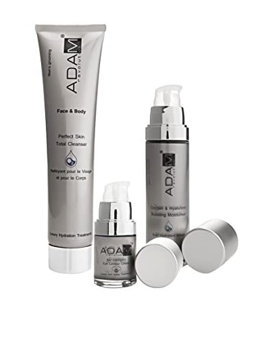 ADAM REVOLUTION Bio – Intelligent Anti-Aging Moisturiser + Bio-Intelligent Eye Contour Cream + Silky Skin Total Cleanser