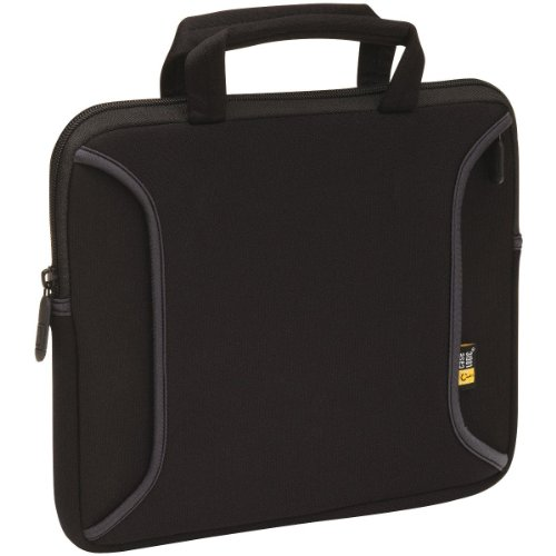 Case Logic LNEO-10 Ultraportable Neoprene Notebook/iPad Sleeve Fits 7- to 10.2-Inch Tablets (Black)