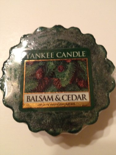 Balsam & Cedar Yankee Candle Tart (6 cnt.) (Yankee Candle Wax Tarts compare prices)