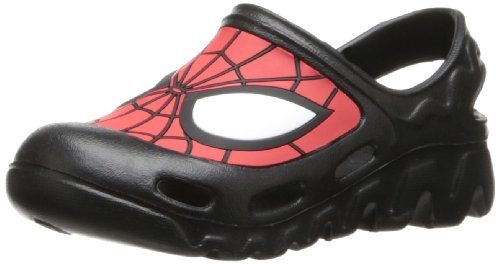 Marvel Spiderman Sandal (Toddler/Big Kid),Black/Red,7 M Us Toddler