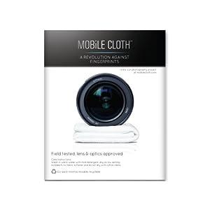 Mobile Cloth NA5LB Nano Lens Cloth - 5 Pack (White)