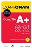 img - for CompTIA A+ 220-701 and 220-702 Exam Cram (5th Edition) 5th edition by Prowse, David L. (2011) Paperback book / textbook / text book