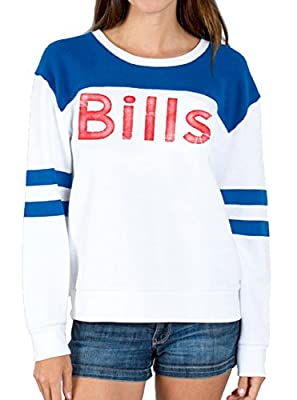 Junk Food NFL Buffalo Bills Football Juniors Pull Over Fleece Sweatshirt