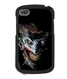 printtech Joker Gotham Art Scary Back Case Cover for BlackBerry Q10
