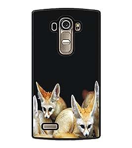 PrintDhaba Animal Design D-5324 Back Case Cover for LG G4 (Multi-Coloured)