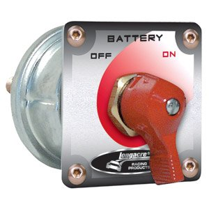 Longacre 45761 Battery Disconnect Switch with Panel