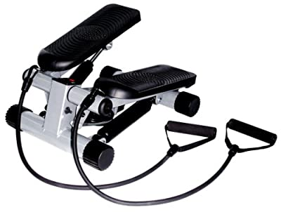 Sunny Health Fitness Mini Stepper With Resistance Bands by Sunny Health & Fitness