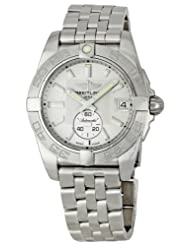 Breitling Men's BTA3733011-G706SS Galactic 36 Automatic Silver Dial Watch