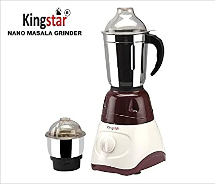 Kingstar-Nano-K-009-450W-Mixer-Grinder-(2-Jars)