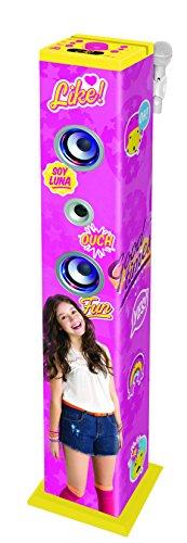 Soy Luna - Torre de sonido con Bluetooth (Lexibook K8050SL)