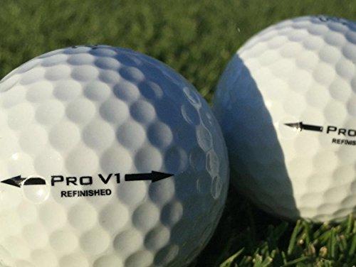 50 x Golfbälle Titleist Pro V1 refinished pearl/mint Klasse