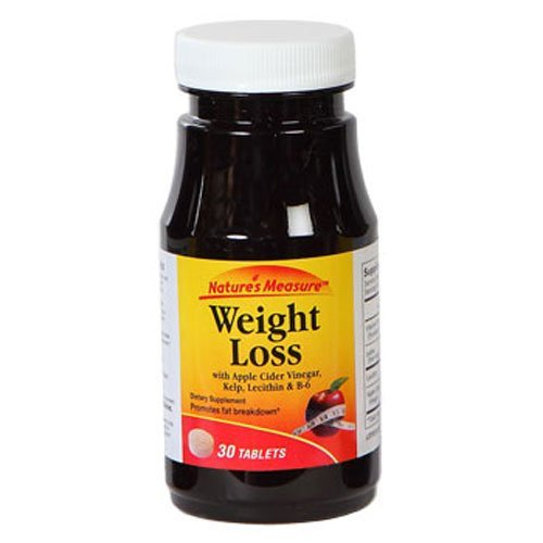 Nature'S Measure Weight Loss/Fat Fighter Formula, 30 Ct. (2 Pack)