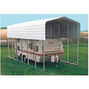 Amazon.com: VersaTube RV Storage Shelter - 38ft.L x 12ft.W
