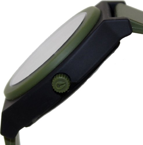 Nixon The Time Teller P Watch,One Size,Green часы nixon corporal ss matte black industrial green