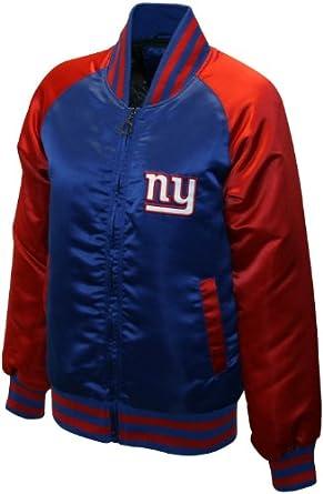 NFL Ladies New York Giants Satin Team Spirit Jacket by MTC Marketing, Inc