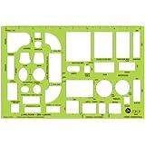 Jakar Metric Templates - Home Furnishings: Scale 1:50. 211x137mm (4643)