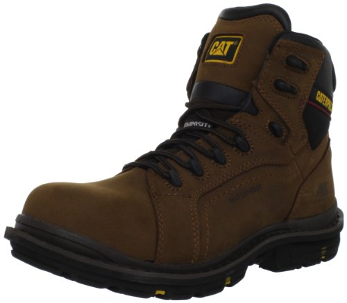 Caterpillar Men'S Akron Wp Ct Work Shoe,Dark Brown,12 M Us