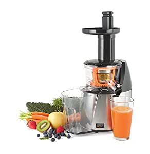 Salton Vita Pro Low Speed Juicer, White