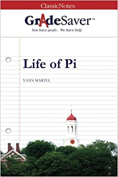 Gradesaver tm classicnotes life of pi study guide for Life of pi chapter summary