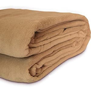 Jago KSDK04-Apple Cinnam Throw Blanket Fleece Blanket Supersoft Warm Apple Cinnam 200 x 220 cm