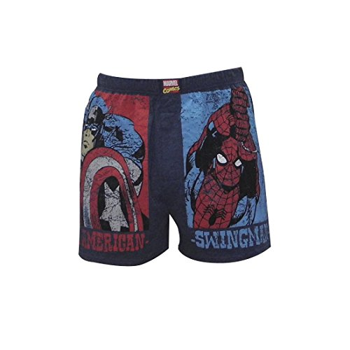 Mens MARVEL COMICS (HULK, SPIDERMAN) Boxer Shorts / Underwear S Multicolor