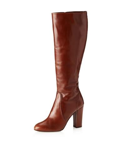 Delman Women's Fleet Boot  - Cognac