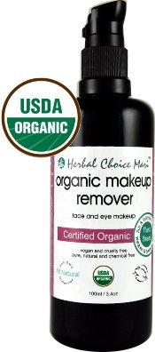Herbal Choice Mari Organic Makeup Remover 100ml/ 3.4oz Pump