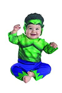Disguise Marvels Superhero Squad Hulk Infant Costume from Disguise