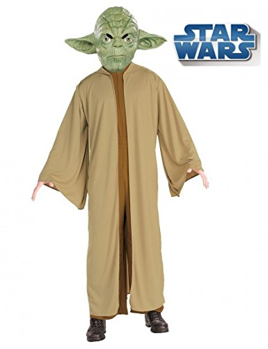 [Yoda Costume - Standard - Chest Size 46] (Yoda Costumes For Adults)