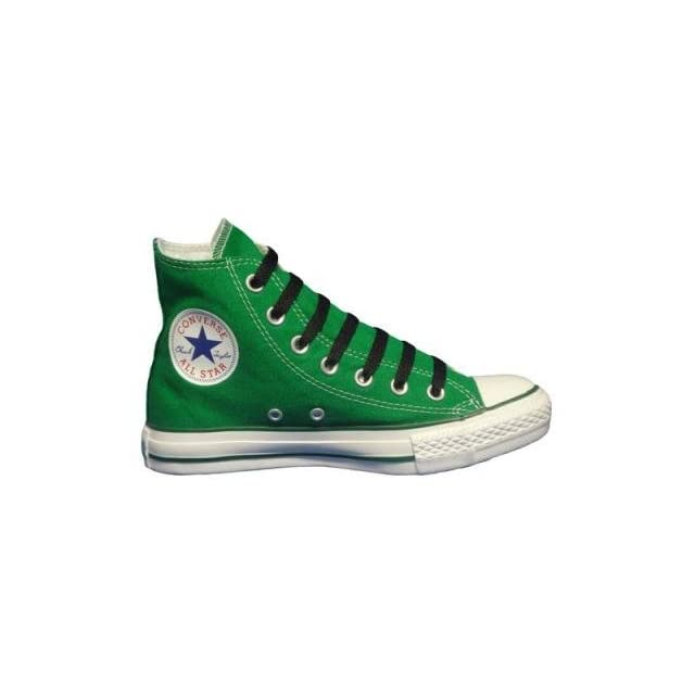 114f4414a4d8 Converse Chuck Taylor All Star Hi Top Kelly Green Canvas Shoes with Extra  Pair of Black Laces