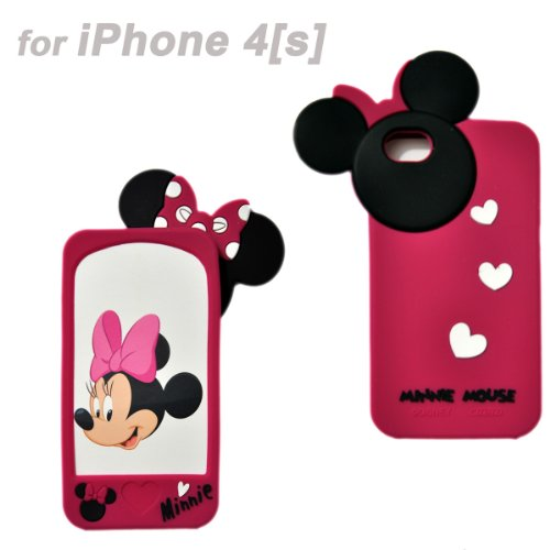 Disney Minnie Mouse Hide and Seek Silicone Case