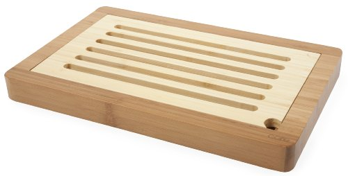 Core Bamboo Slotted Bread Board, Natural