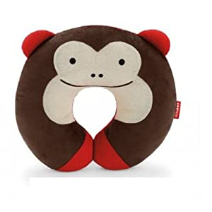 Hengsong Plush Soft Toy Childrens Car Seat Travel Neck Rest Pillow (Coffee-670327)