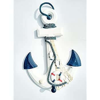 Wooden Anchor Decor, 13