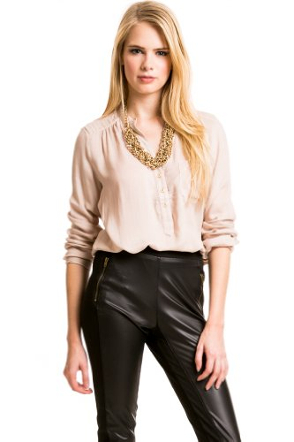 Casual Longsleeve in Taupe