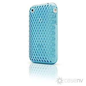 Case-FX Flex Diamond Case for iPhone 3G / 3GS (Vapor Blue) + Bonus: Case-FX Reveal Screen Protector for iPhone 3G / 3GS (Clear)
