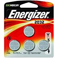 Energizer 2032BP-4 4-Pack Watch Battery-3V LITHIUM 4PK BATTERY